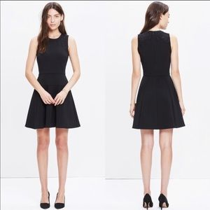 Madewell Black Lace-inset Anywhere Dress 6